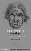 From Passions to Emotions