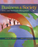 Business and Society  Ethics and Stakeholder Management Book PDF