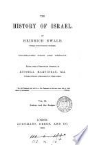 The history of Israel  tr   ed  by R  Martineau  J E  Carpenter  J F  Smith