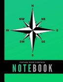 Vintage Rose Compass Notebook