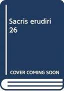Sacris Erudiri 26