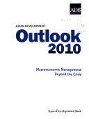 Asian Development Outlook Book