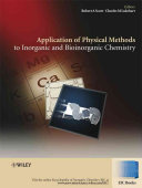 Applications of Physical Methods to Inorganic and ...