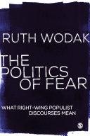 The Politics of Fear [Pdf/ePub] eBook
