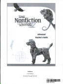 TIME For Kids Nonfiction Readers  Advanced Teacher s Guide