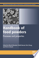Handbook of Food Powders Book