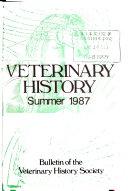 Veterinary History