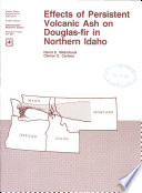 Effects Of Persistent Volcanic Ash On Douglas Fir In Northern Idaho
