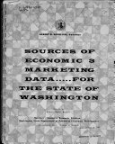 Sources of Economic   Marketing Data for the State of Washington