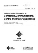 IEEE TENCOM 02  i e  TENCON 02   2002 IEEE Region 10 Conference on Computers  Communications  Control and Power Engineering