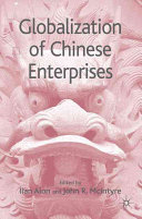 Globalization of Chinese Enterprises Book