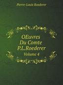 Pdf OEuvres Du Comte P.L.Roederer Telecharger