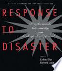 Response To Disaster Book PDF