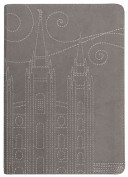 Stitched Temple Journal Gray