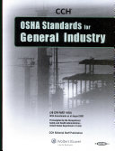 OSHA Standards for General Industry as of August 2007