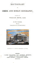 Dictionary of Greek and Roman Geography