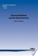 Financial Markets and the Real Economy Book
