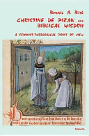 Pdf Christine de Pizan and Biblical Wisdom