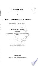 Treatise on Clock and Watch Making Book