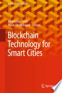Blockchain Technology For Smart Cities Book PDF