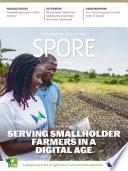 Farm data  Serving smallholder farmers in a digital age