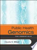Public Health Genomics Book