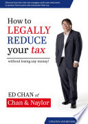 How to Legally Reduce Your Tax Book