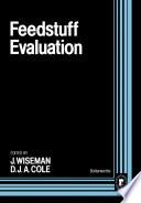 Feedstuff Evaluation