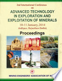 Advanced Technology in Exploration and Exploitation of Minerals 2nd