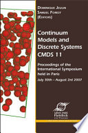 Continuum Models And Discrete Systems Cmds 11 Book PDF