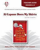 Al Capone Does My Shirts Teacher Guide ebook