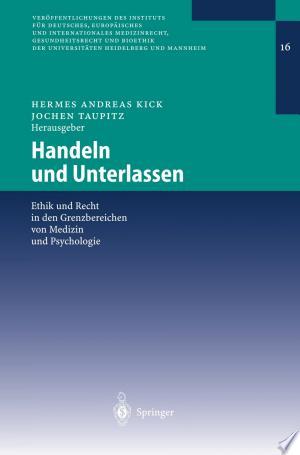 Download Handeln und Unterlassen Free Books - Read Books