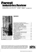 Forest Industries Review
