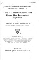 Pamphlets On Wood Technology