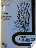Prairie Potholes Eis Vegetation Allocation Appendices Book PDF