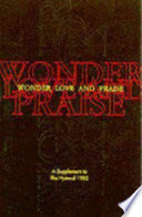 Wonder  Love  and Praise