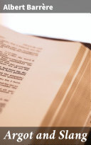 Pdf Argot and Slang Telecharger