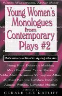 Young Women S Monologues From Contemporary Plays 2