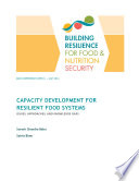 Capacity Development For Resilient Food Systems Book PDF