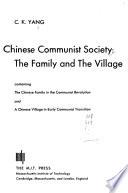 Chinese Communist Society