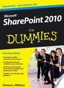 Microsoft SharePoint 2010 für Dummies