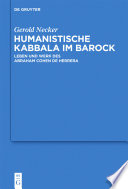 Humanistische Kabbala im Barock