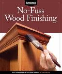 No-Fuss Wood Finishing