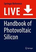 Handbook of Photovoltaic Silicon