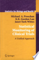 Statistical Monitoring Of Clinical Trials Book PDF