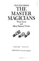 The Master Magicians