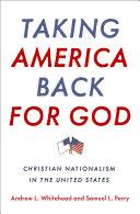 Taking America Back for God