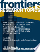 The development of deep brain stimulation for neurological and psychiatric disorders: clinical, societal and ethical issues