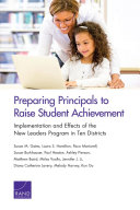 Preparing Principals to Raise Student Achievement