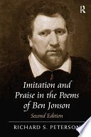 Imitation and Praise in the Poems of Ben Jonson Book